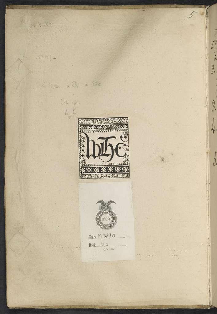 Libro primo di Arie passeggiate à vna voce con l'intavolatura del chitarone