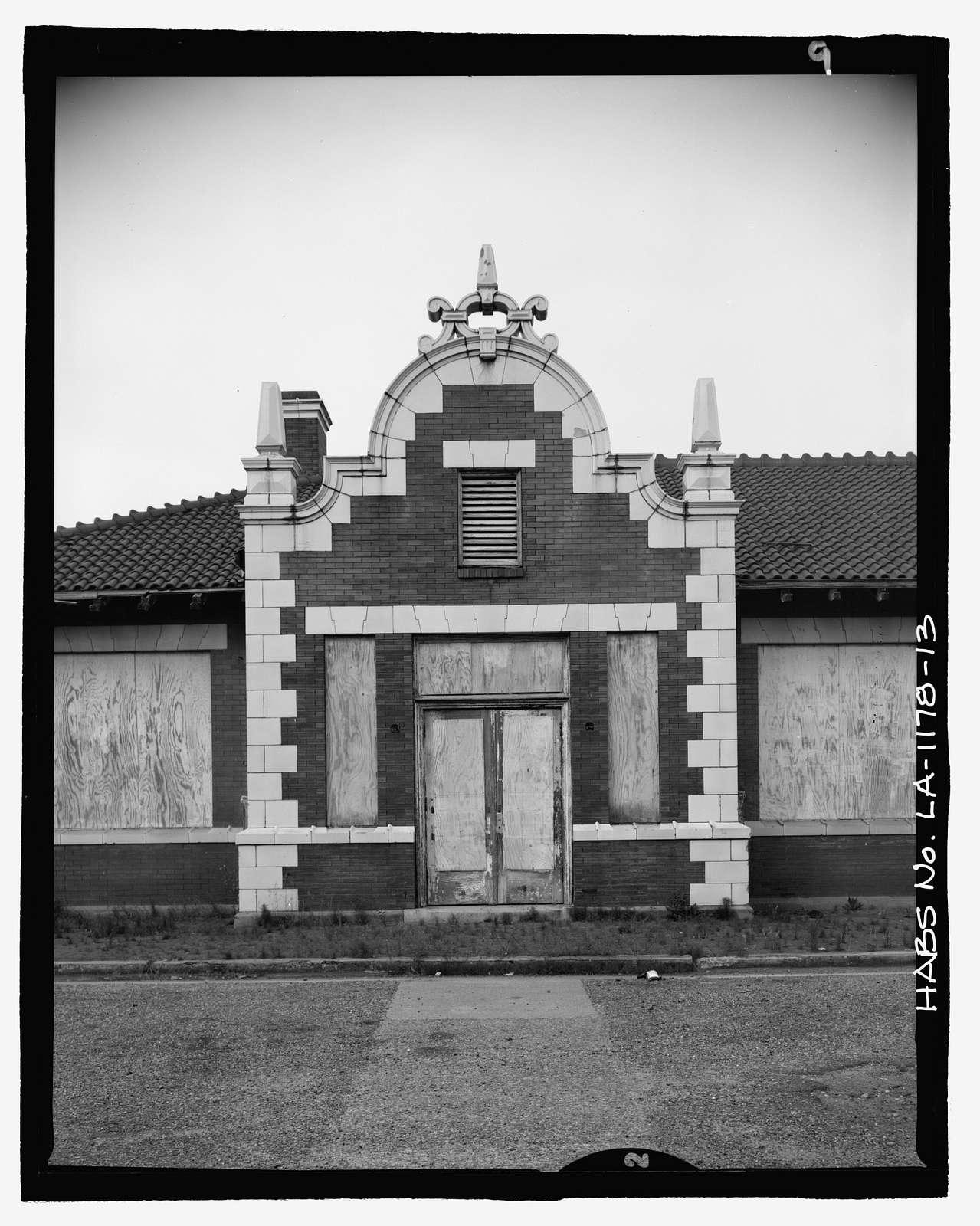 Missouri Pacific-Texas Pacific Railroad Station, Tenth & Jackson Streets, Alexandria, Rapides Parish, LA