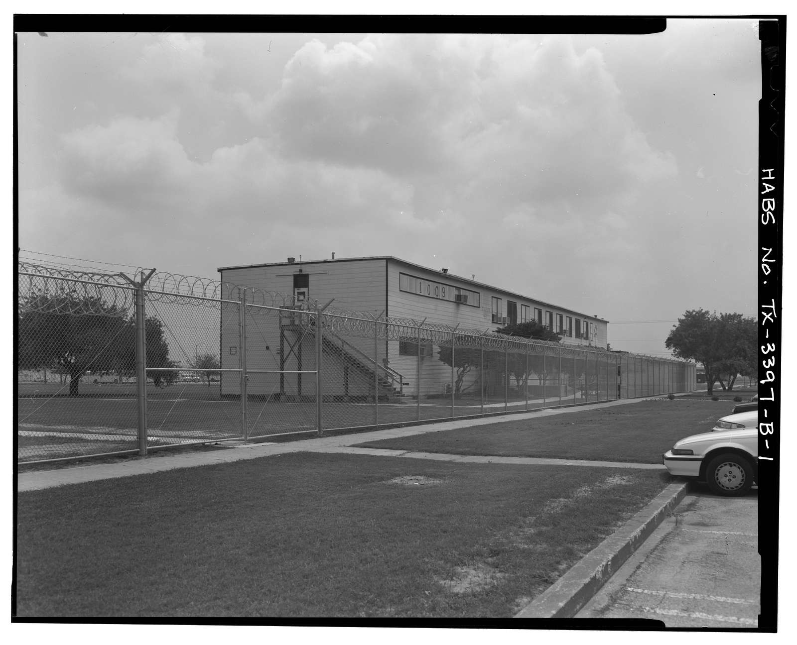 Naval Air Station Chase Field, Building 1009, Essex Street, .68 mile South-southeast of intersection of Texas State Highway 202 & Independence Street, Beeville, Bee County, TX
