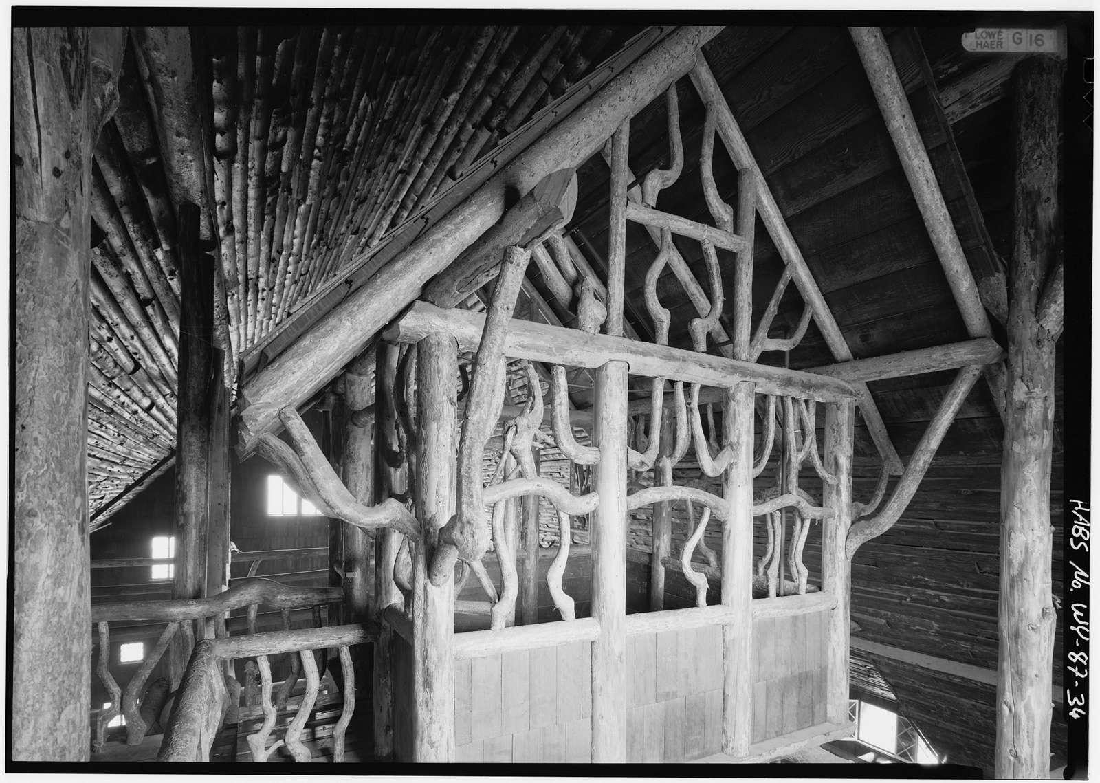Old Faithful Inn, 900' northeast of Snowlodge & 1050' west of Old Faithful Lodge, Lake, Teton County, WY