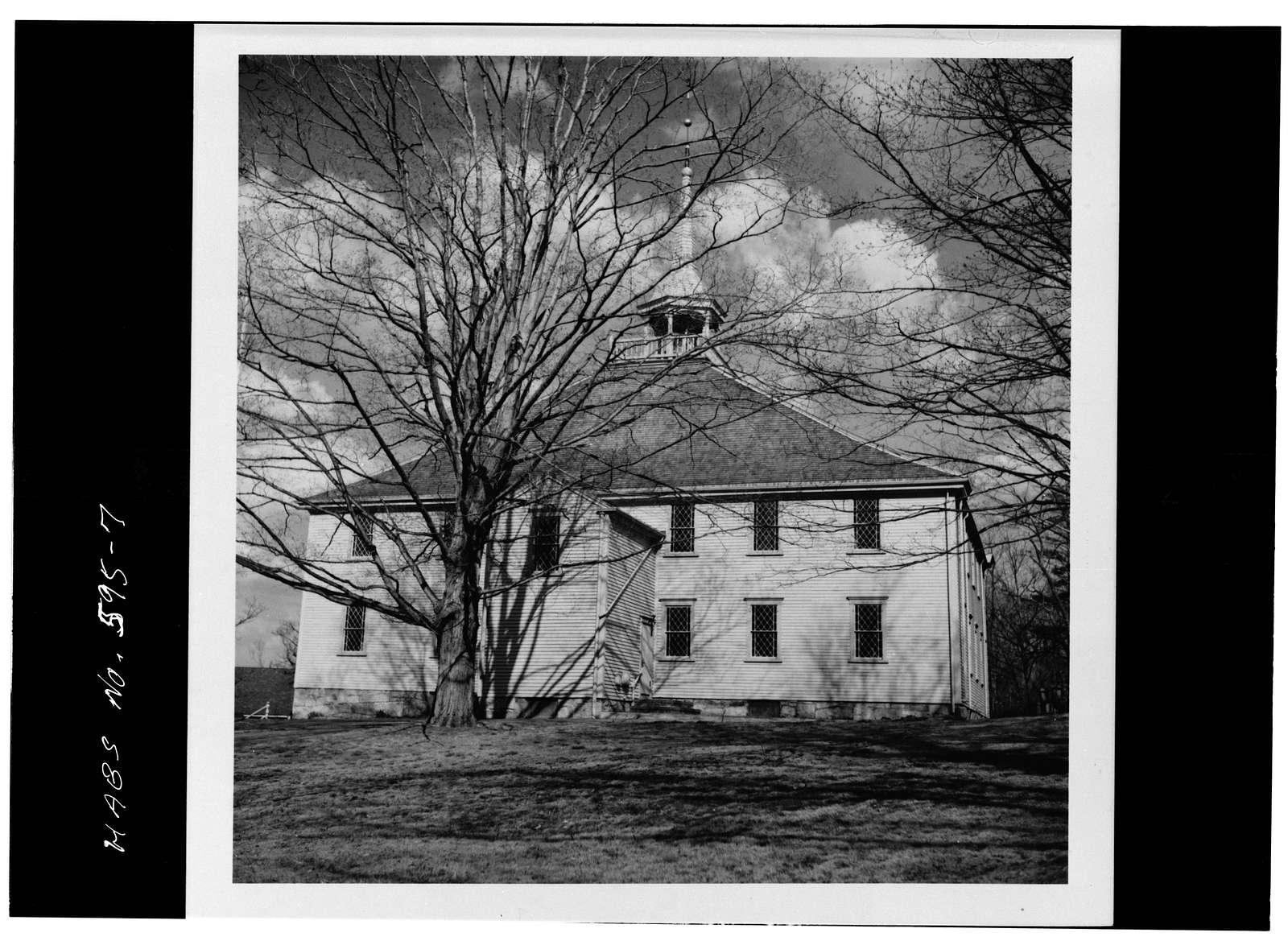Old Ship Church, 88 Main Street, Hingham, Plymouth County, MA
