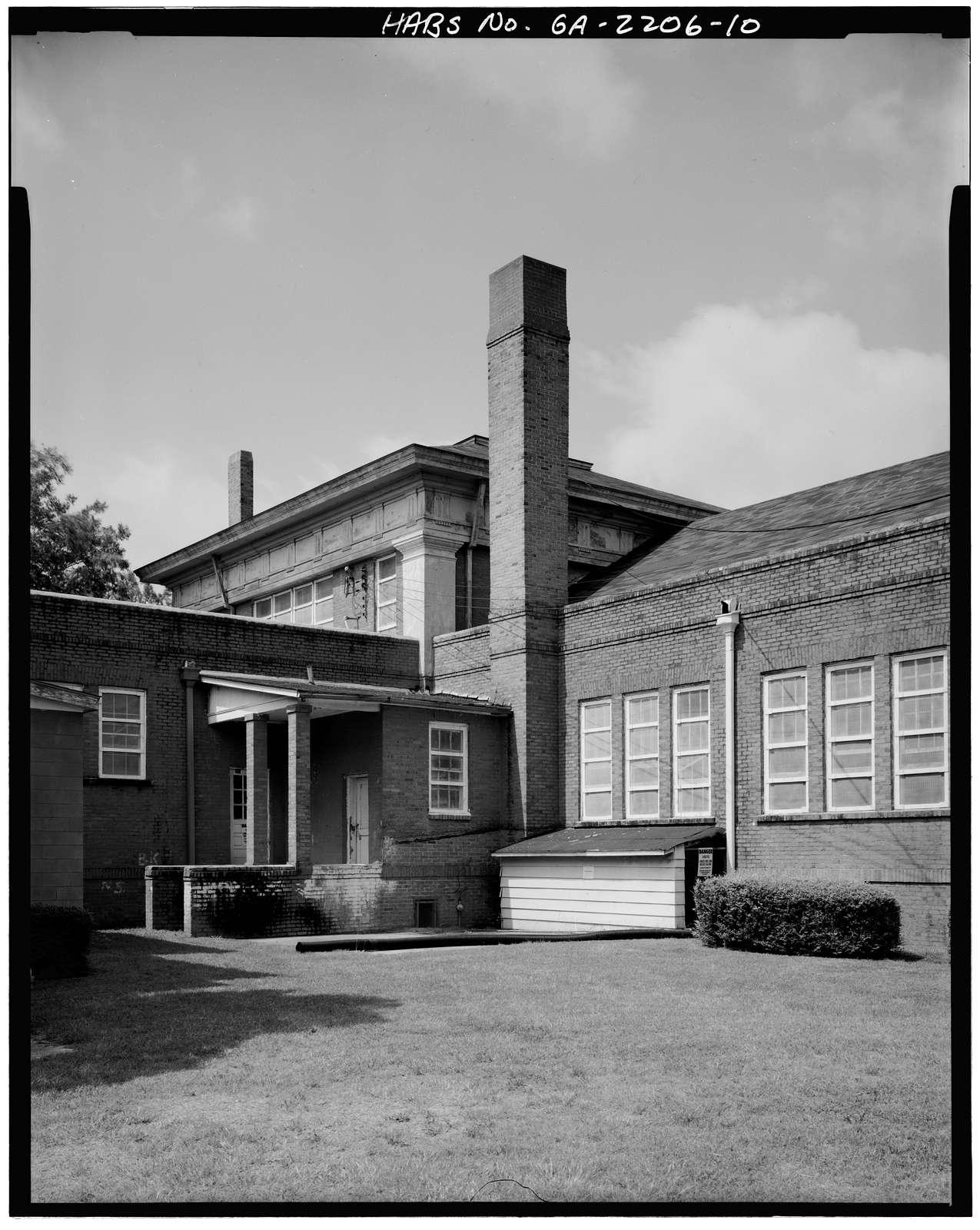 Plains School, Bond Street (opposite Paschal Street), Plains, Sumter County, GA