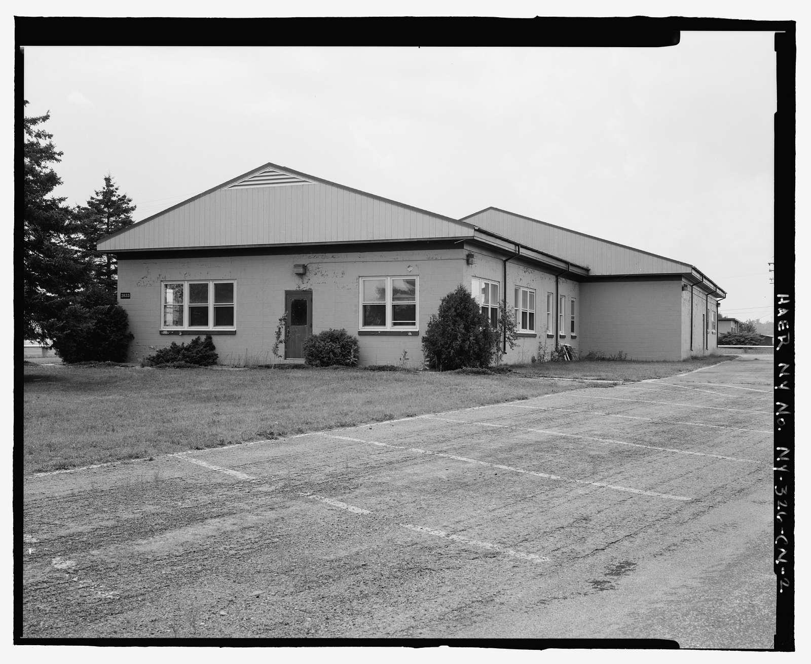 Plattsburgh Air Force Base, Squadron Operations Building, Delaware Street, Plattsburgh, Clinton County, NY