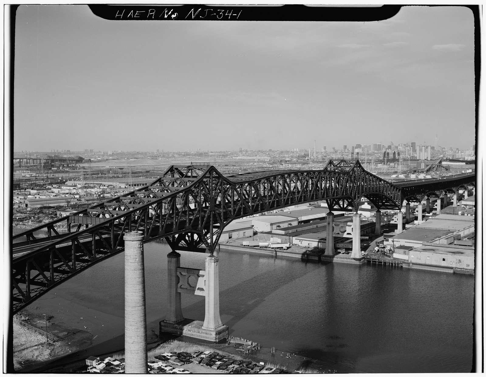 Pulaski Skyway, Spanning Passaic & Hackensack Rivers, Jersey City, Hudson County, NJ