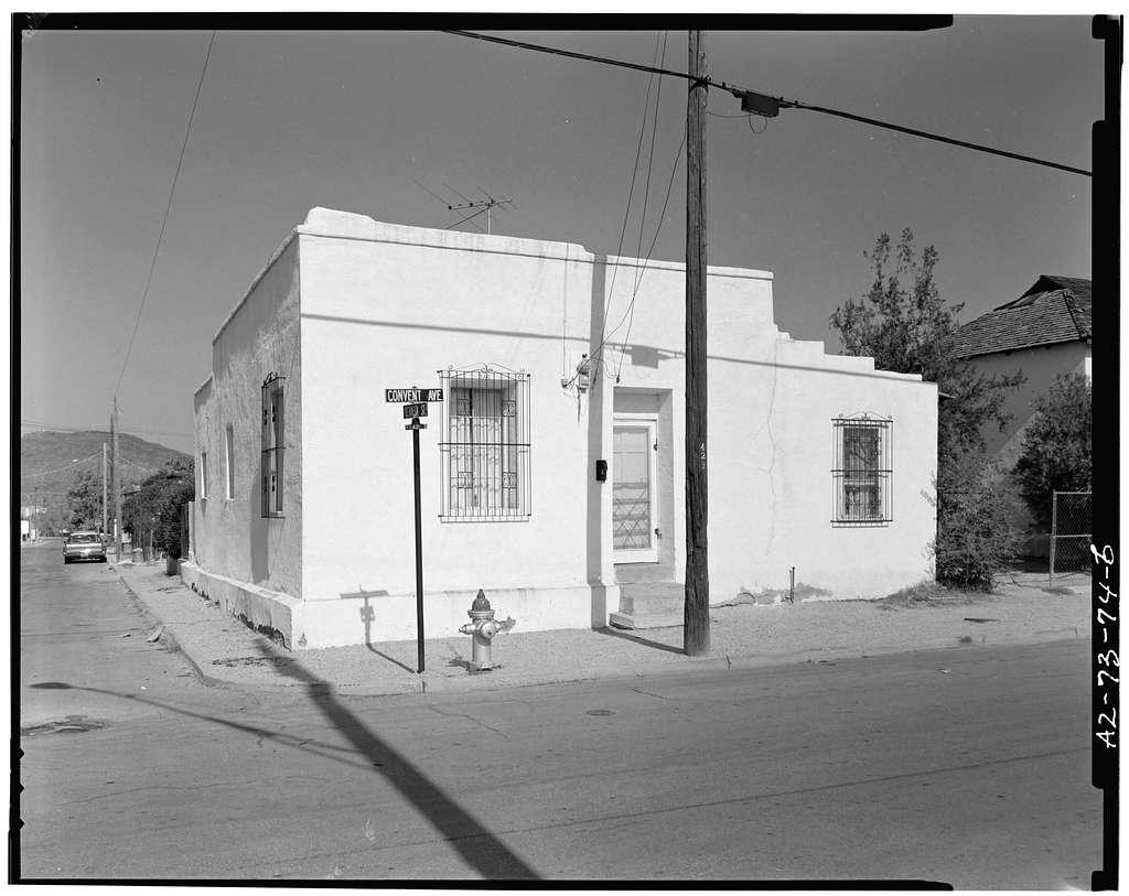 Terrazas House, 418 South Convent Avenue, Tucson, Pima County, AZ