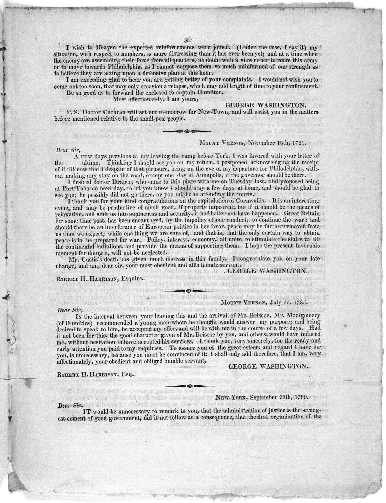 The following documents accompany the memorial of Sarah Easton and Dorothy Storer ... Jas. Monroe. [1814].