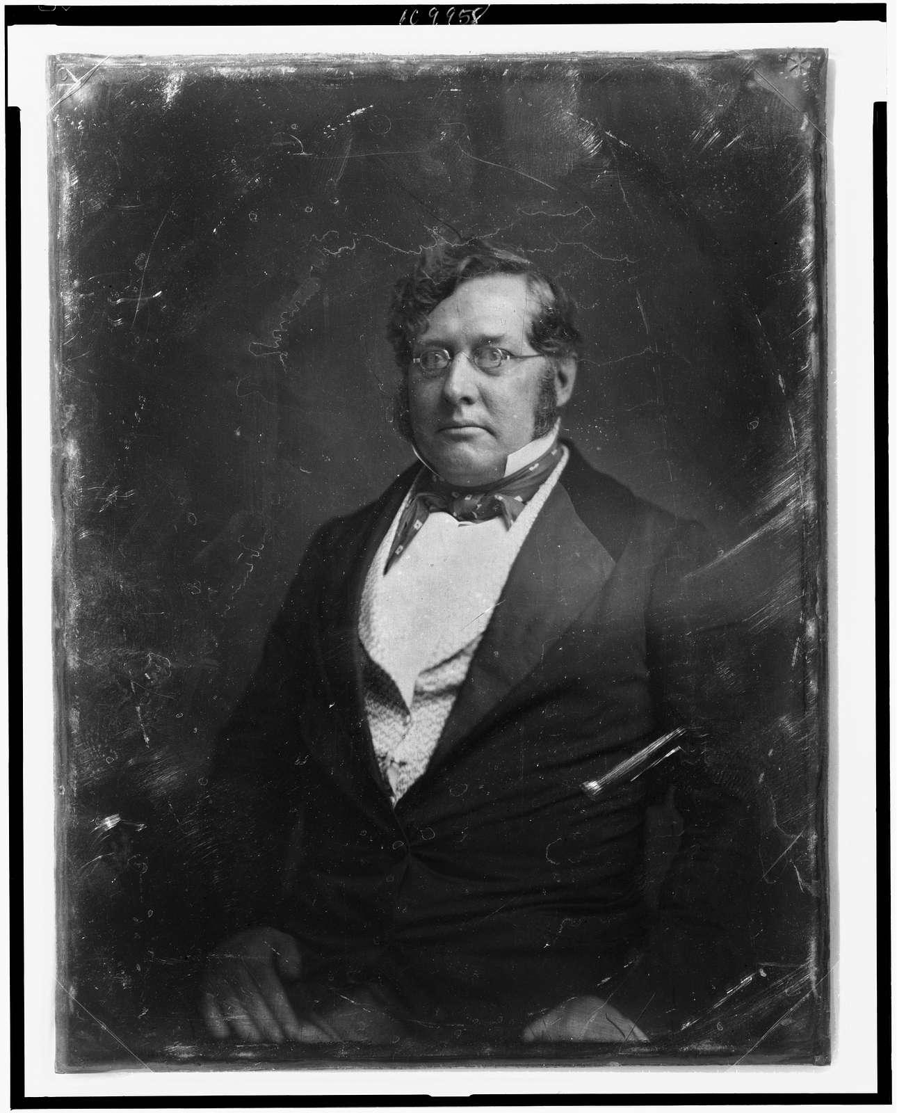 [Thomas George Pratt, half-length portrait, slightly to left]
