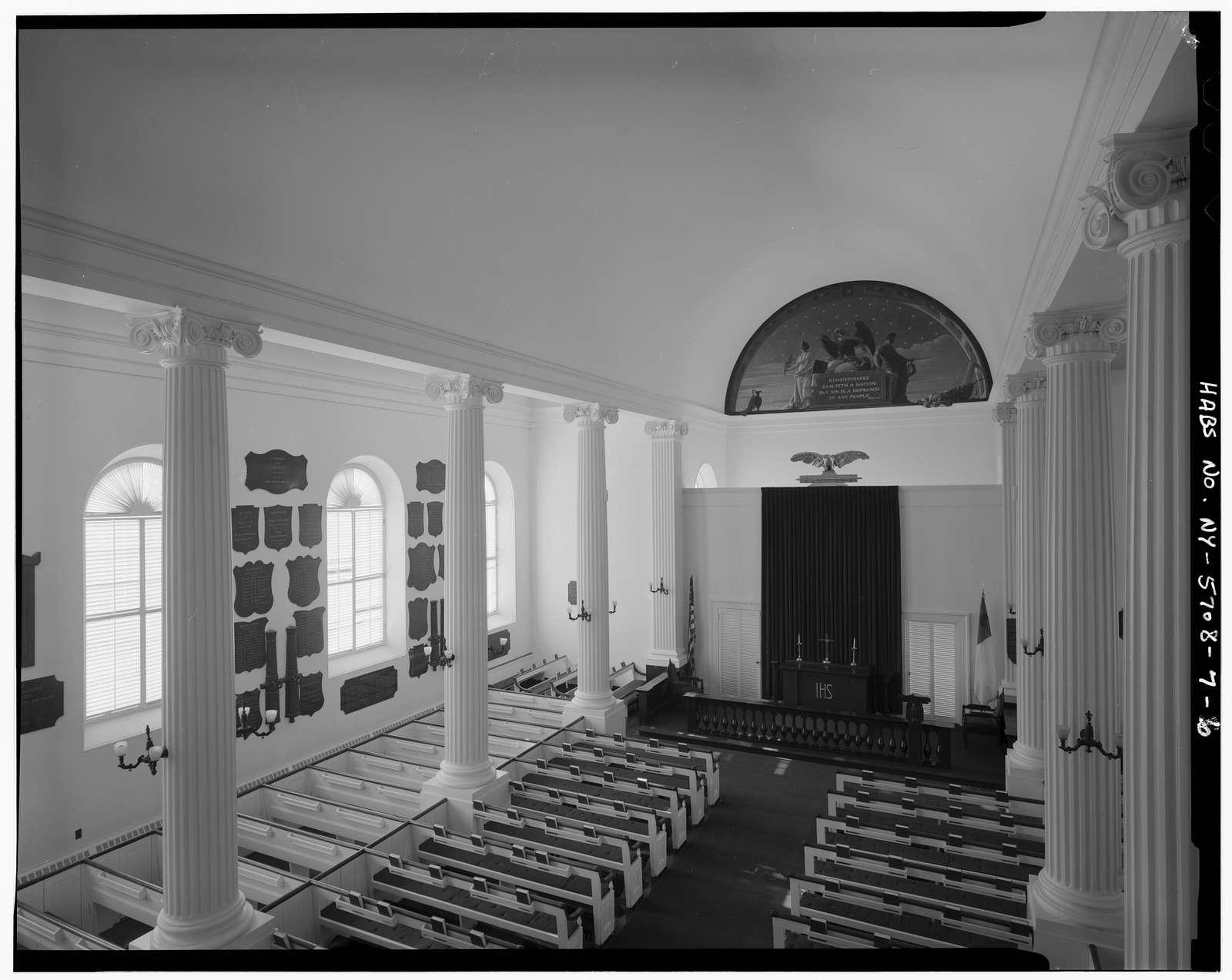 U. S. Military Academy, Cadet Chapel, West Point, Orange County, NY