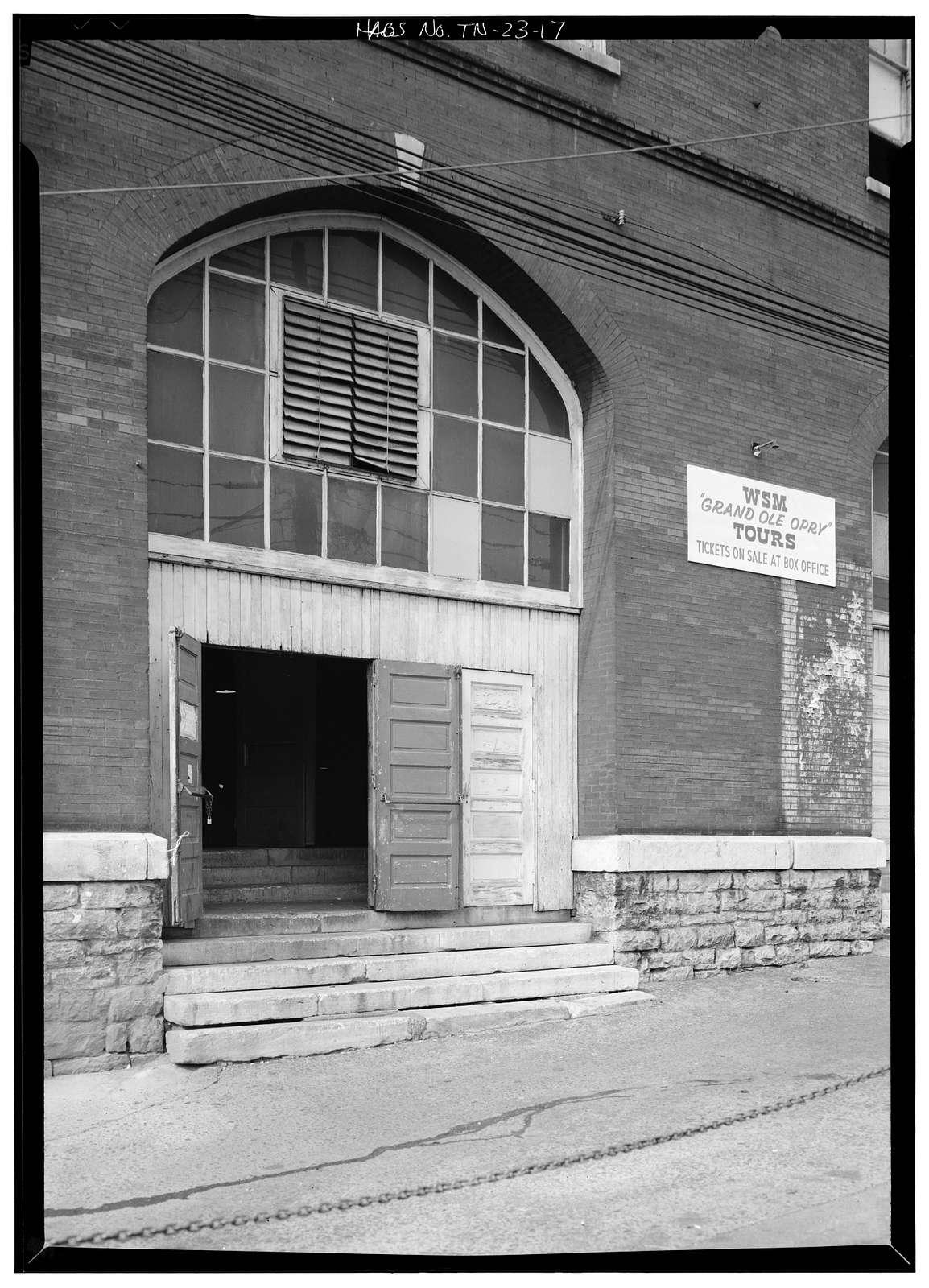 Union Gospel Tabernacle, 116 Fifth Avenue, North, Nashville, Davidson County, TN