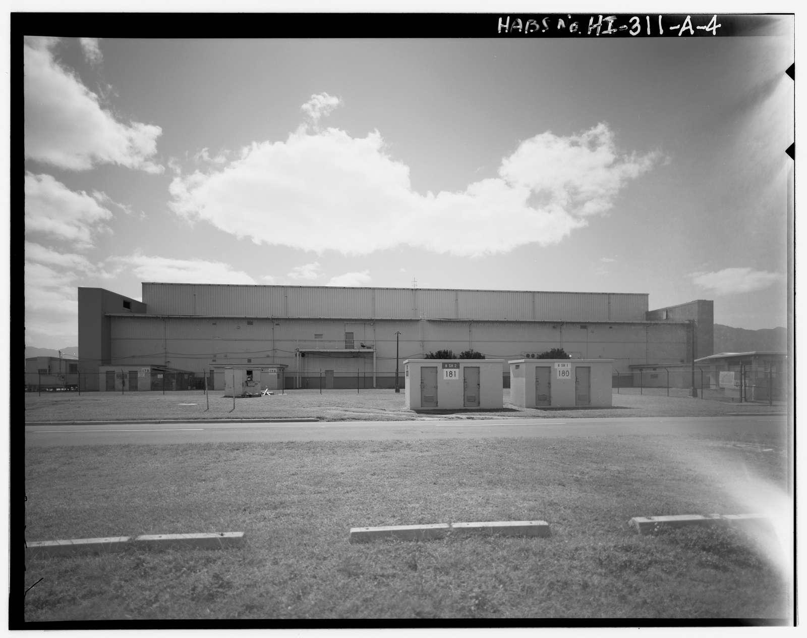 U.S. Marine Corps Base Hawaii, Kaneohe Bay, Hangar No. 4, First Street between A & B Streets, Kailua, Honolulu County, HI