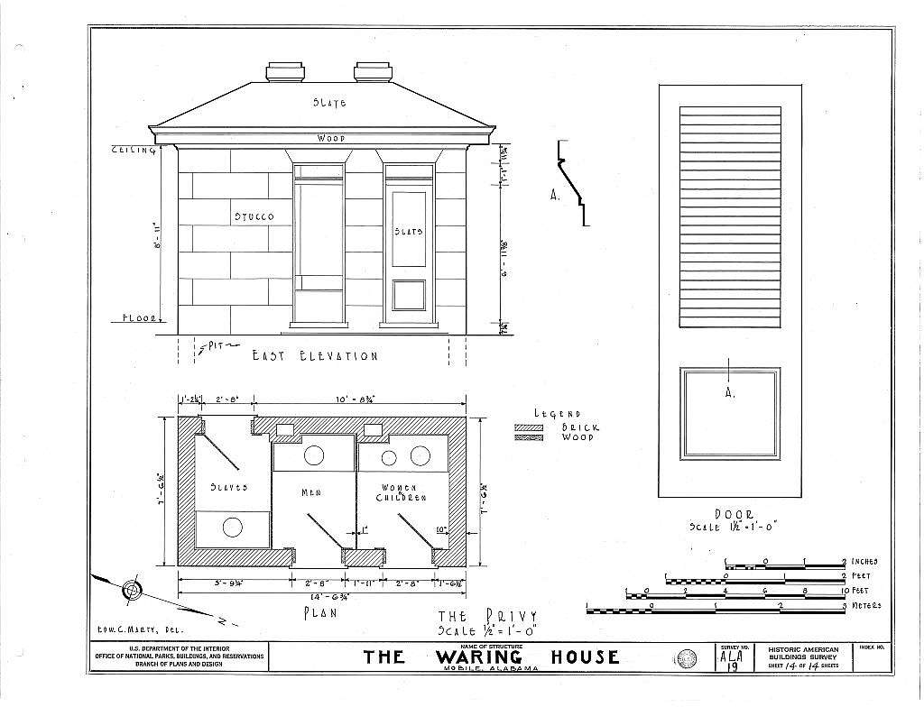 Waring House, 351 Government Street, Mobile, Mobile County, AL