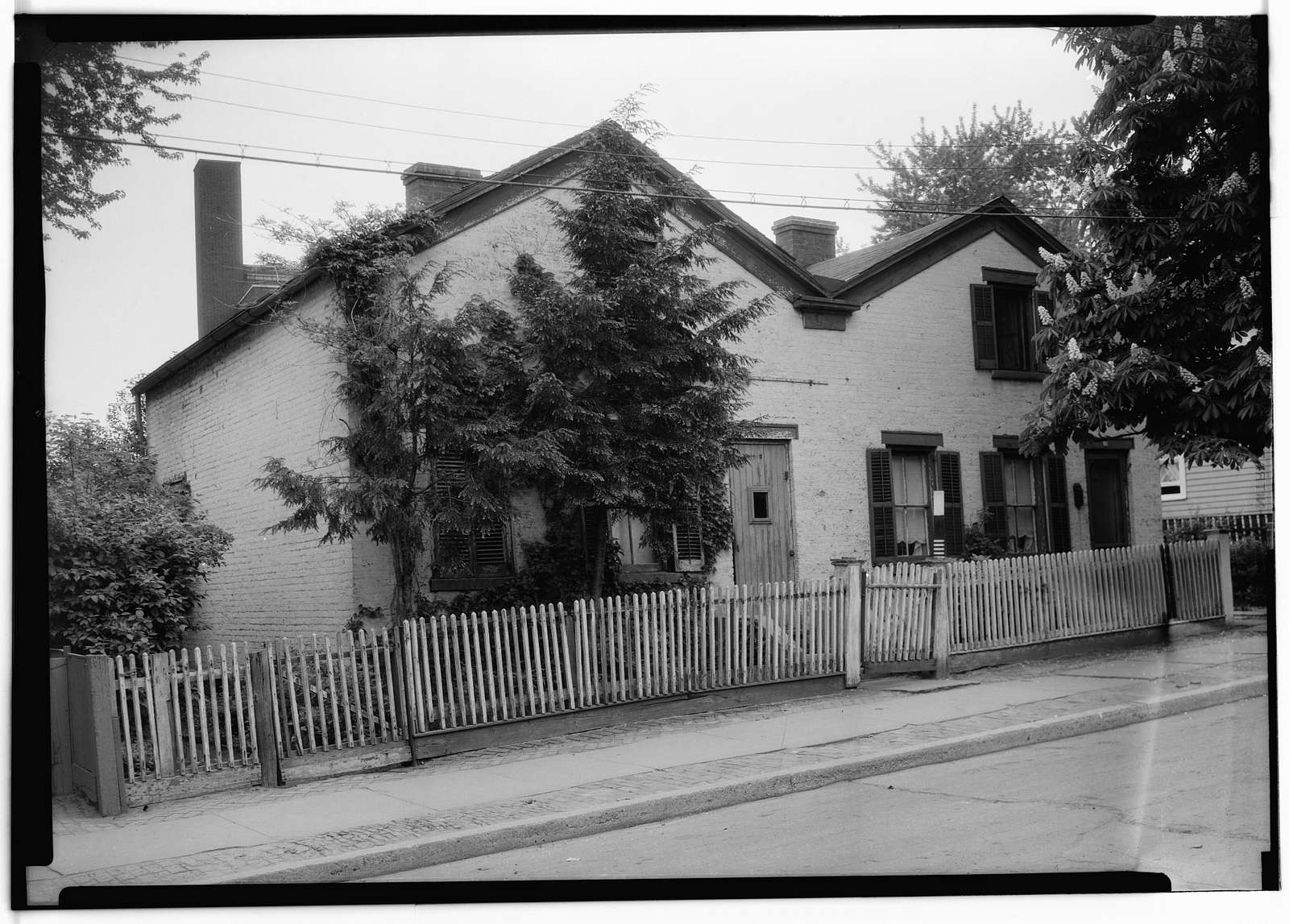 10-12 North Street (House), Schenectady, Schenectady County, NY