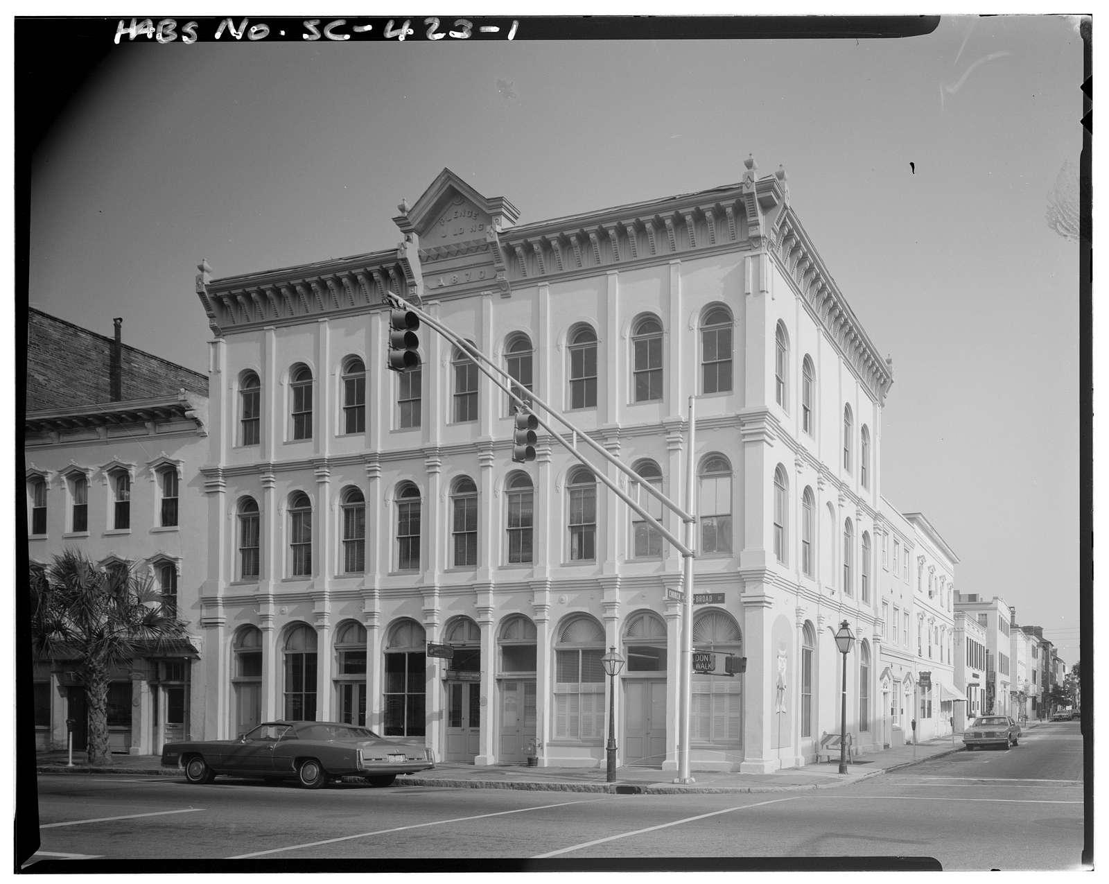 43-47 Broad Street (Commercial Building), Charleston, Charleston County, SC