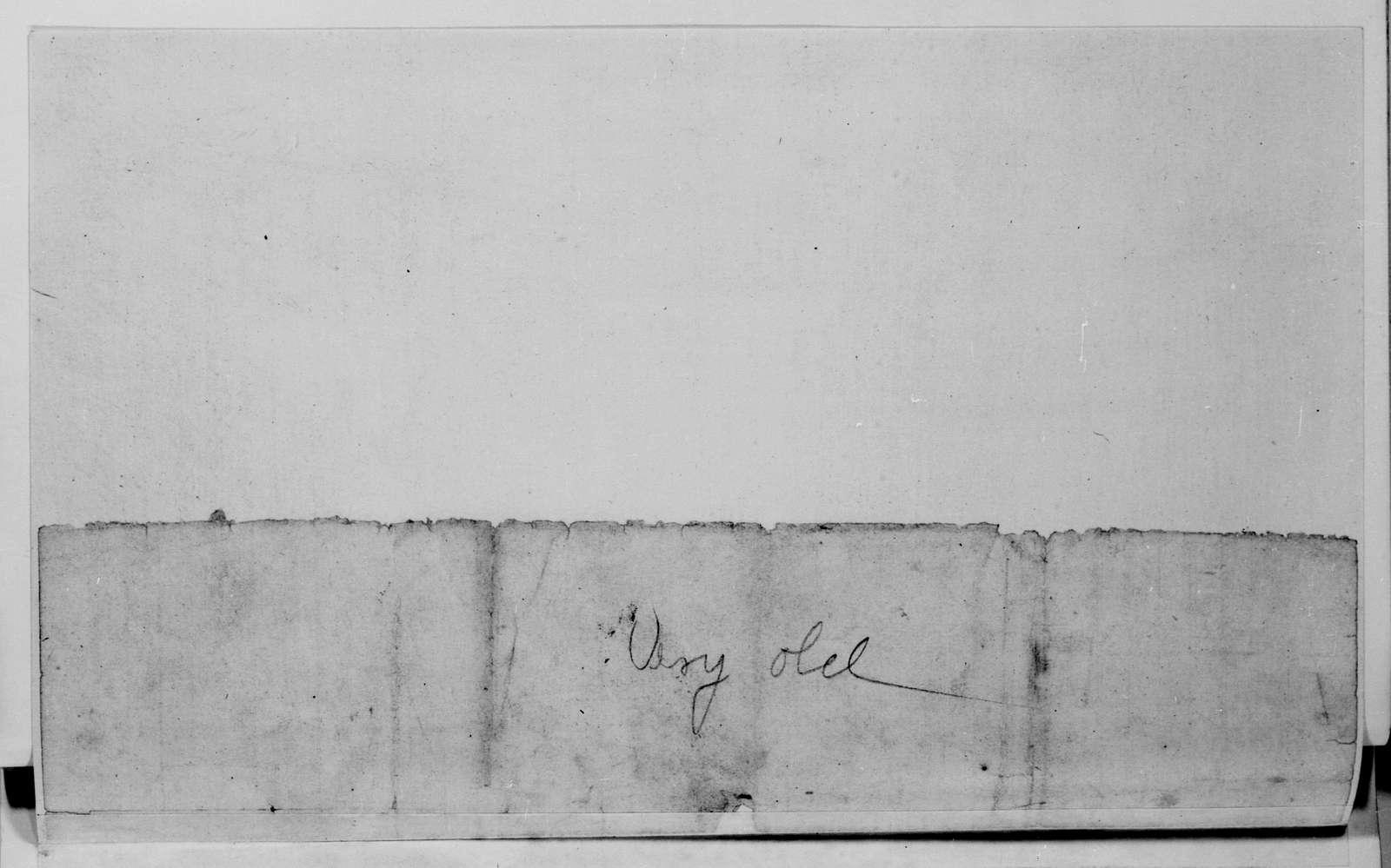 Alexander Hamilton Stephens Papers: General Correspondence, 1784-1886; 1784, May 17-1846, Aug. 18