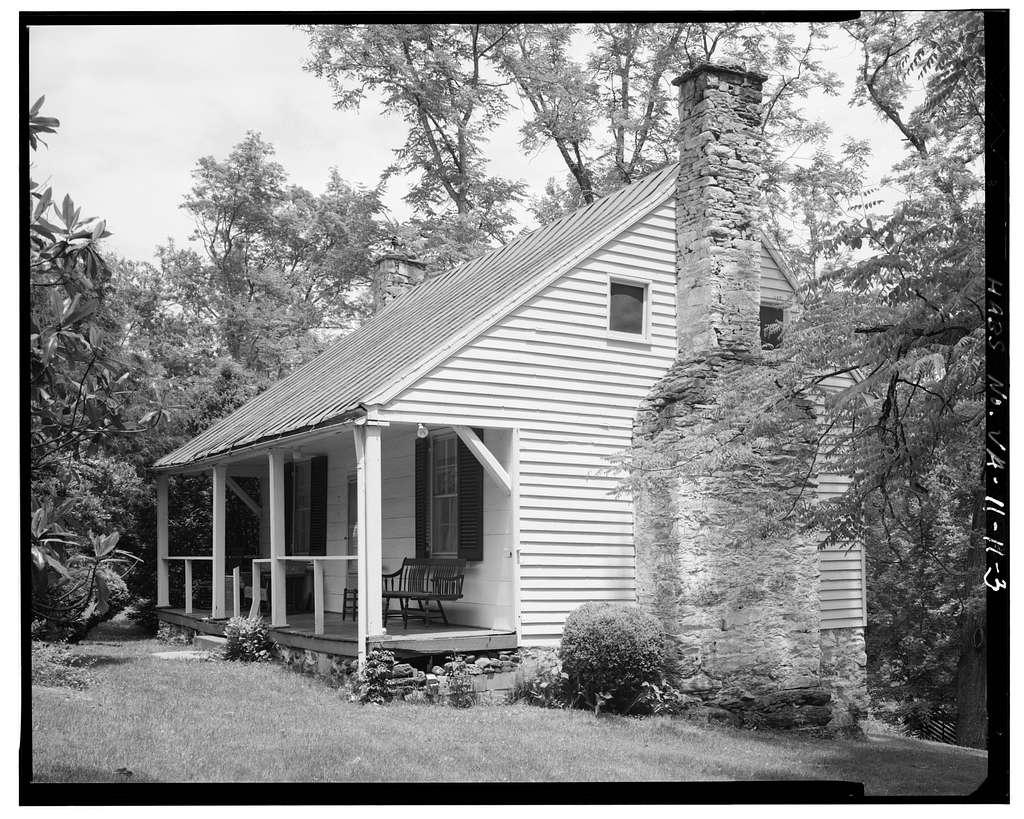 Christopher Johnson Cottage, State Route 126, Lynchburg, Lynchburg, VA