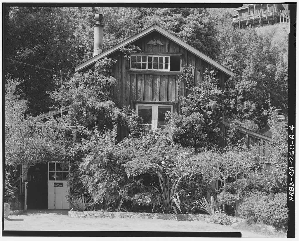 Deetjen's Big Sur Inn, Big Sur Inn Building, East Side of State Highway 1, Big Sur, Monterey County, CA