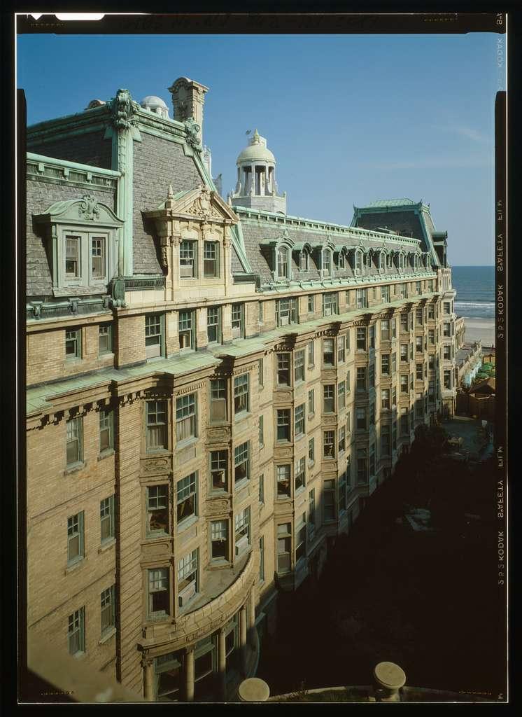 Dennis Hotel, Michigan Avenue & Boardwalk, Atlantic City, Atlantic County, NJ