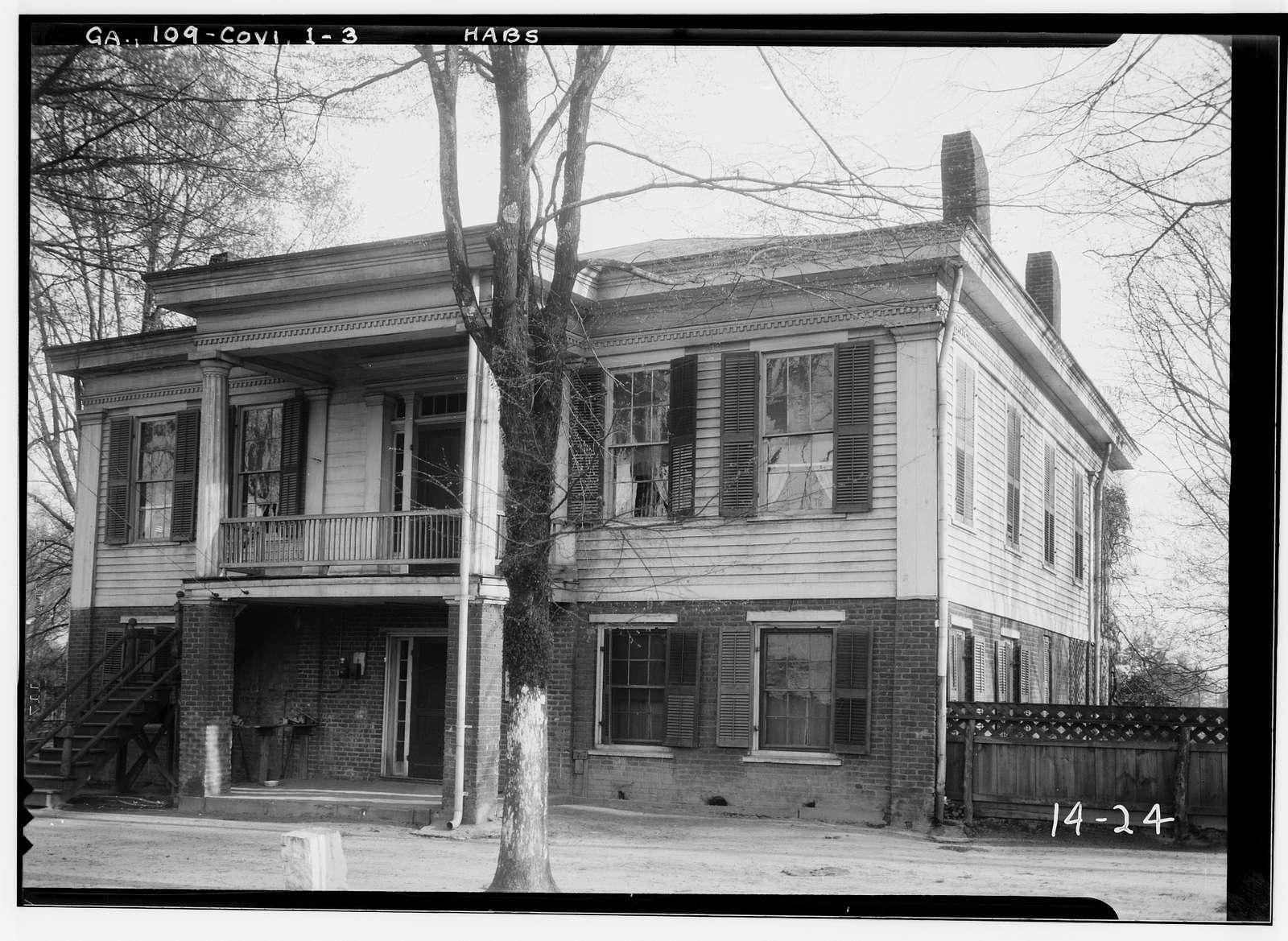 Downs House, Covington, Newton County, GA