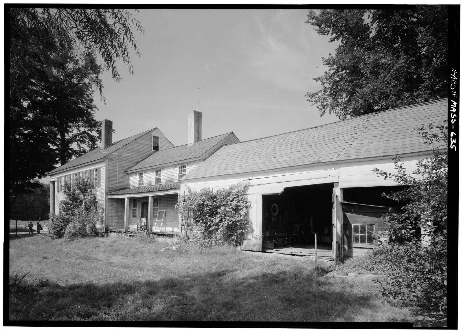 Elijah E. Belding House, Mount Hermon Station Road, West Northfield, Franklin County, MA