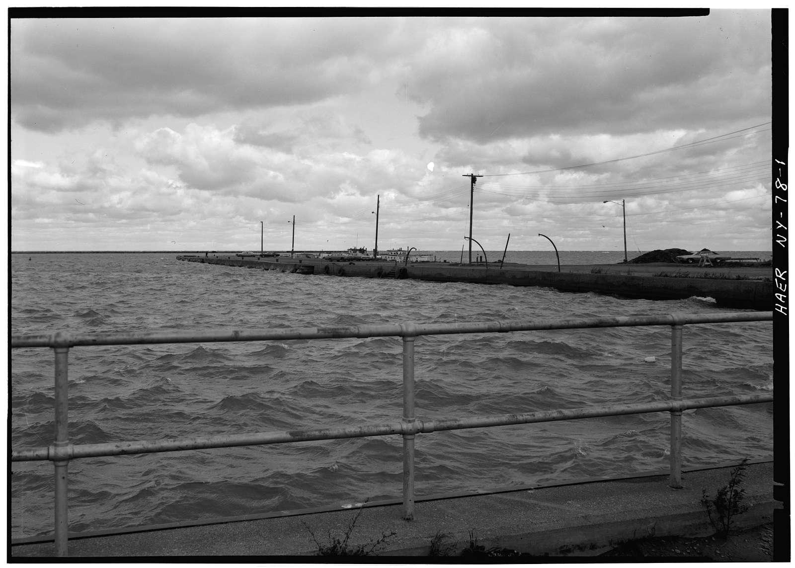 Erie Railway, Central Avenue Pier, Central Avenue, Dunkirk, Chautauqua County, NY