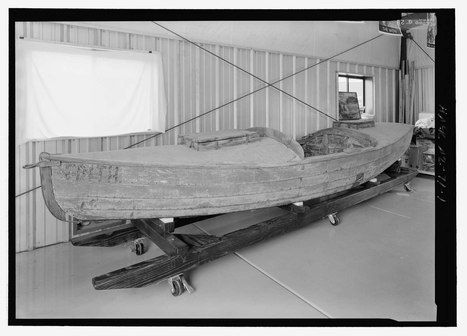Galloway Type Cataract Boat EDITH, Grand Canyon, Coconino County, AZ