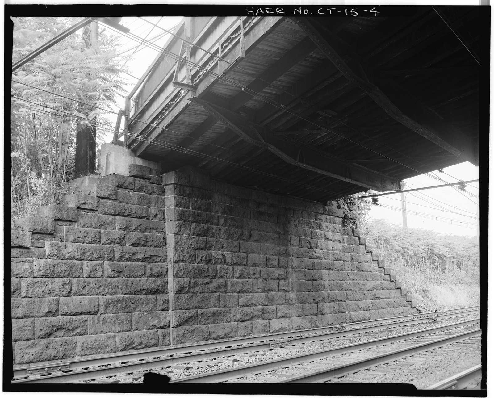 Grasmere Avenue Bridge, Spanning Railroad at Grasmere Avenue, Fairfield, Fairfield County, CT