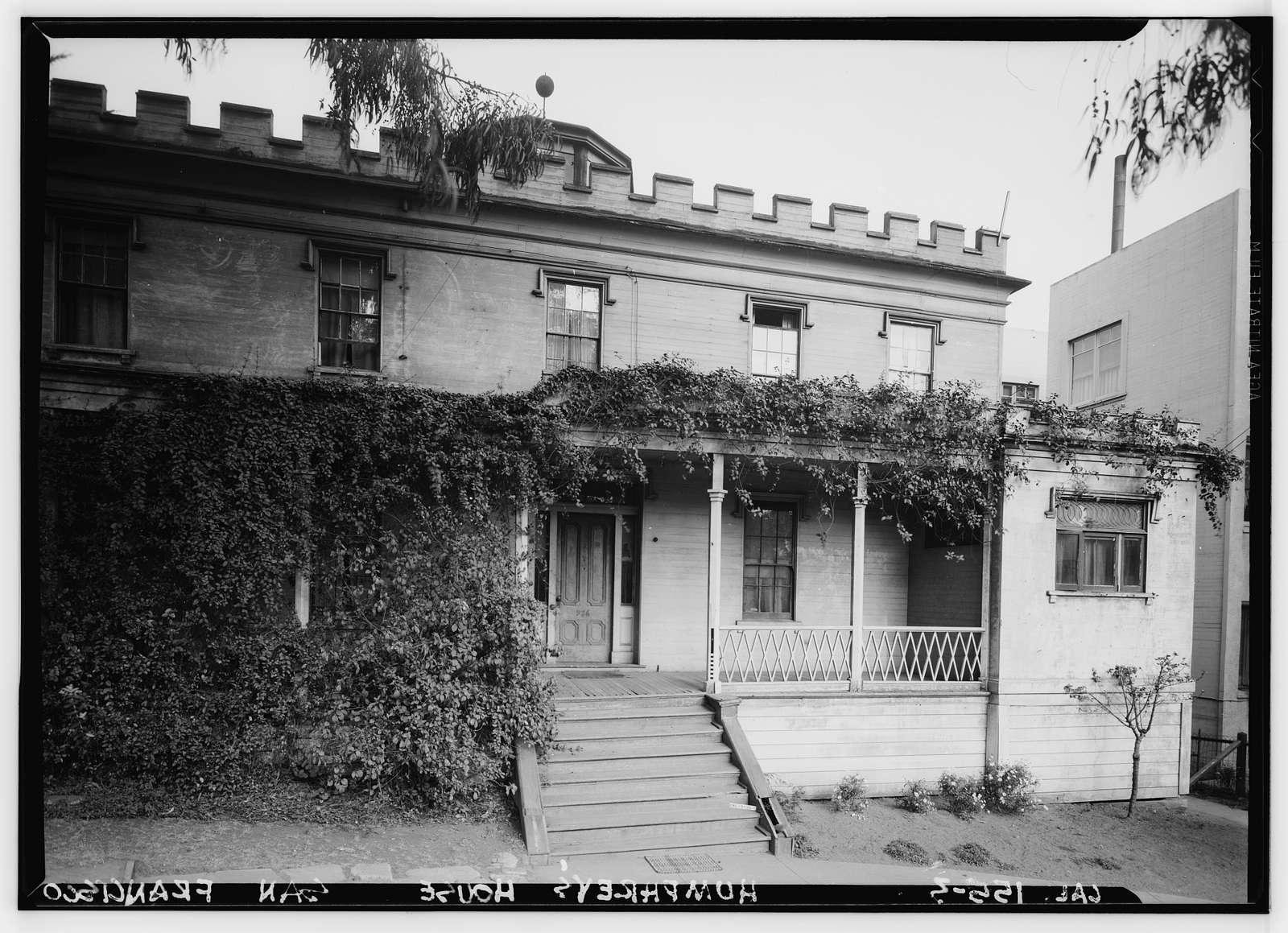Humphrey House, 986 Chestnut Street, San Francisco, San Francisco County, CA