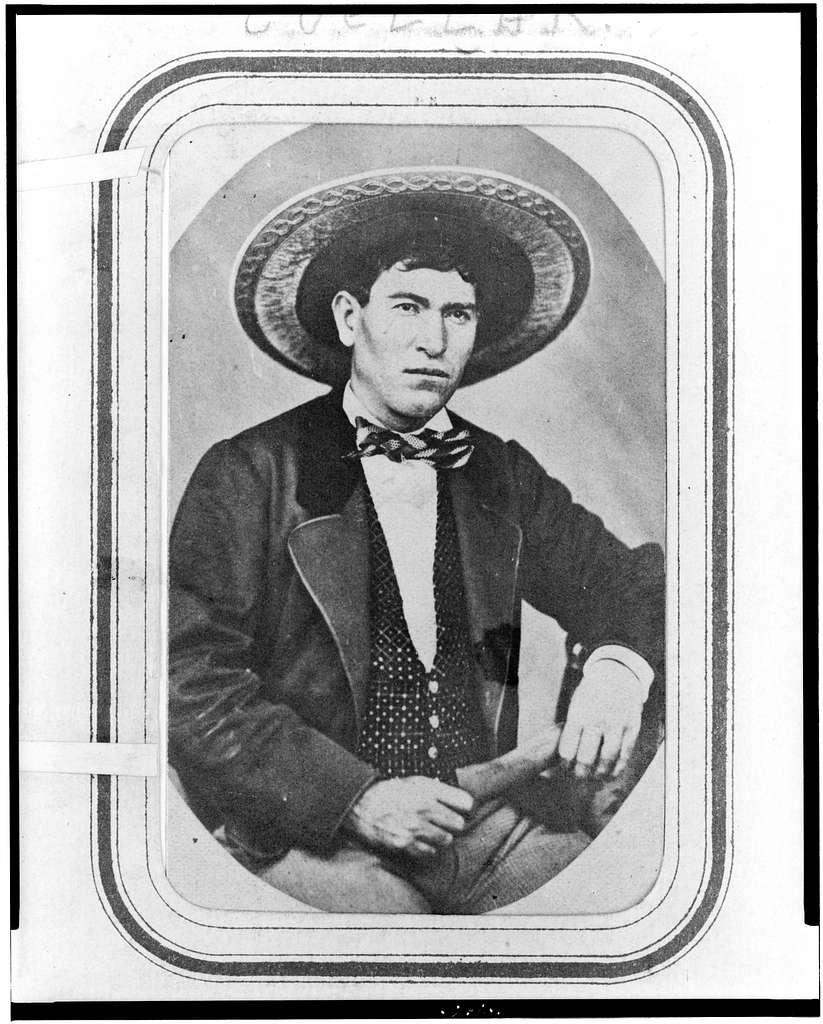 [José Tomás de Cuéllar, half-length portrait, seated, facing right]