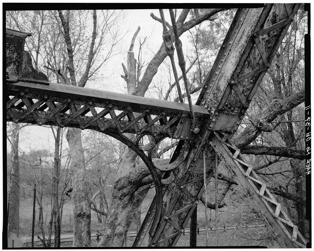 Millgrove Road Bridge, Spanning Little Miami Scenic River at County Road 38, Morrow, Warren County, OH
