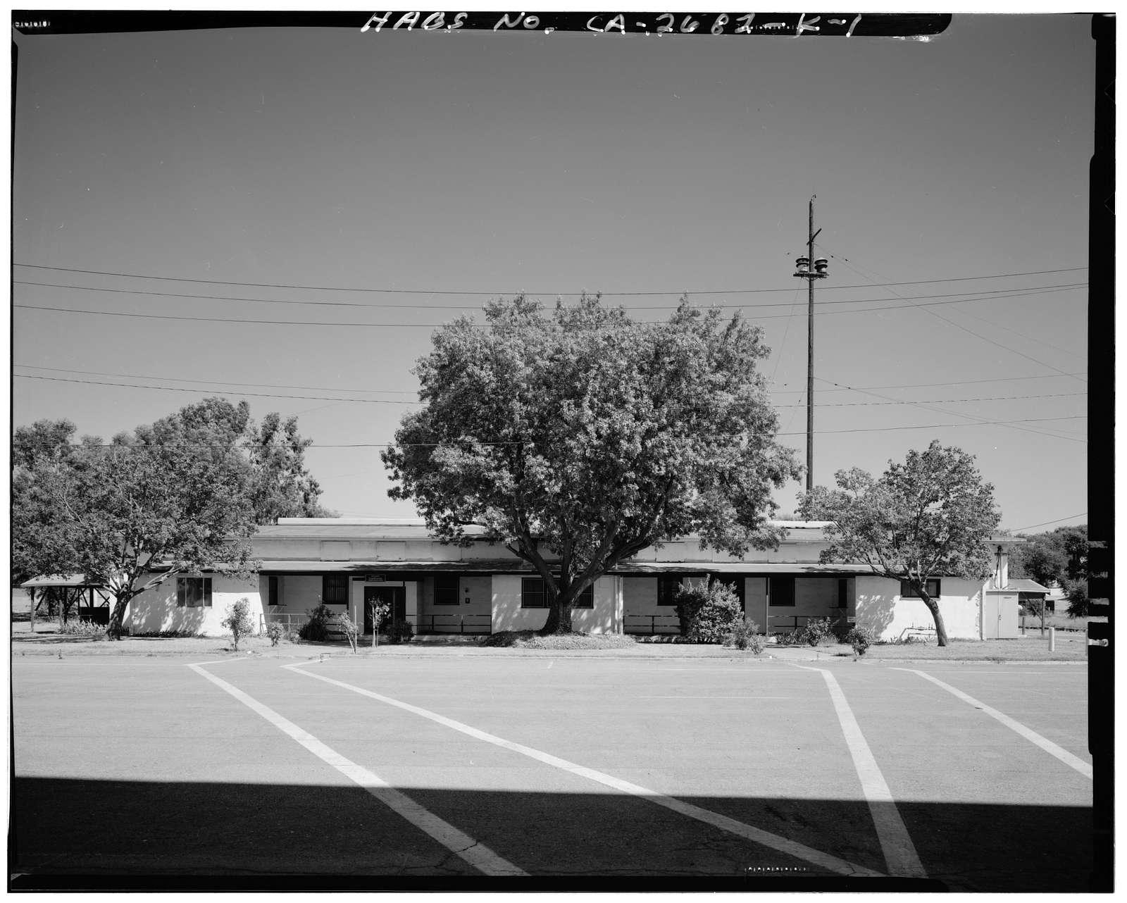 Naval Supply Annex Stockton, Cafeteria, Southeast corner of Daly Drive & Cromwell Avenue, Stockton, San Joaquin County, CA