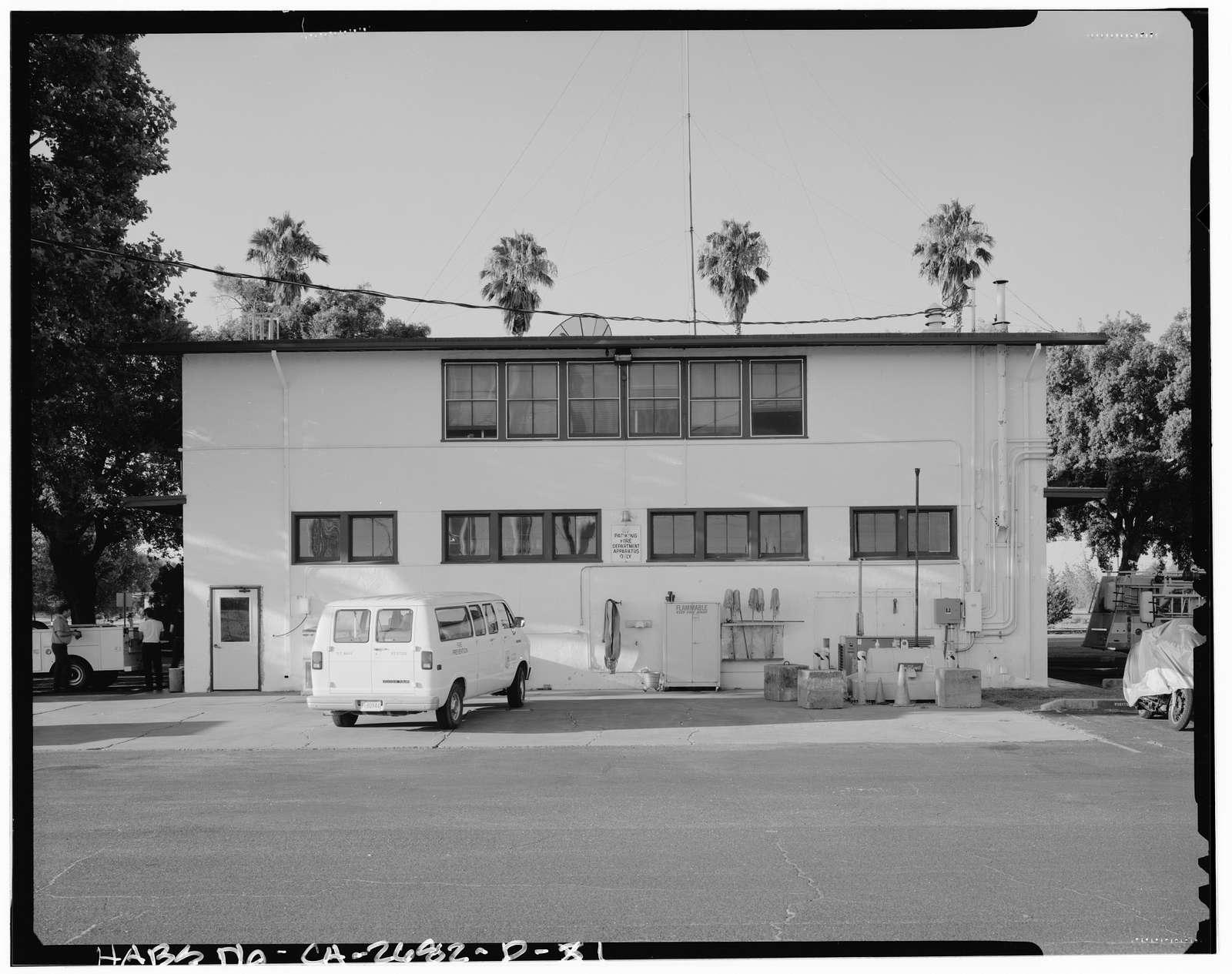 Naval Supply Annex Stockton, Fire Station, Northeast corner of Fyffe Avenue & James Drive, Stockton, San Joaquin County, CA