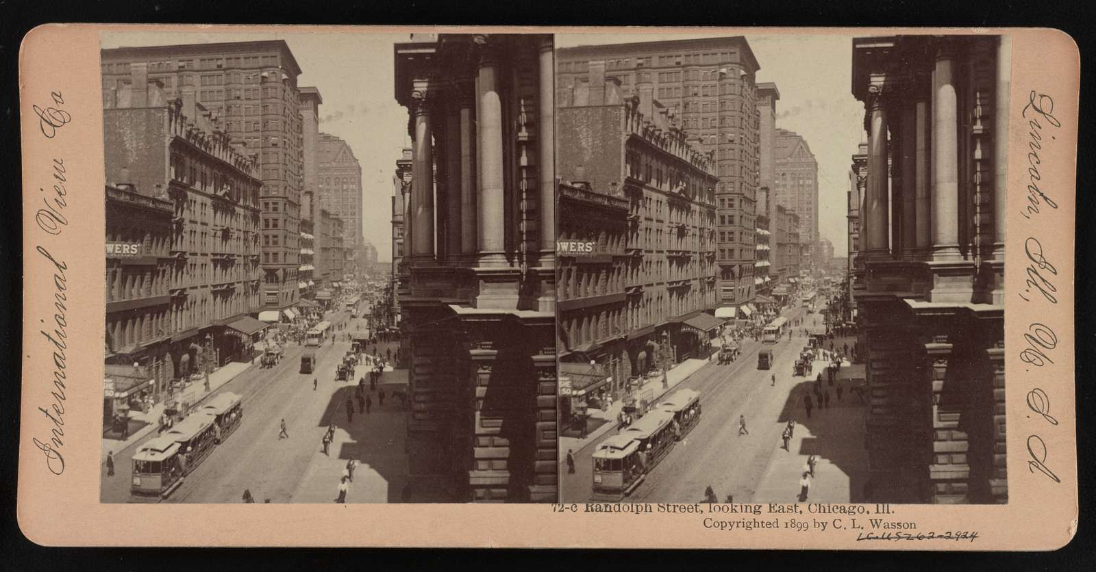 Randolph St., looking east, Chicago, Ill.