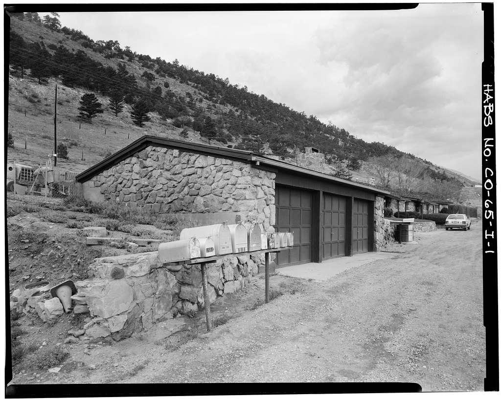 Rooney Ranch, Garage No. 2, Rooney Road & West Alamdea Parkway, Morrison, Jefferson County, CO