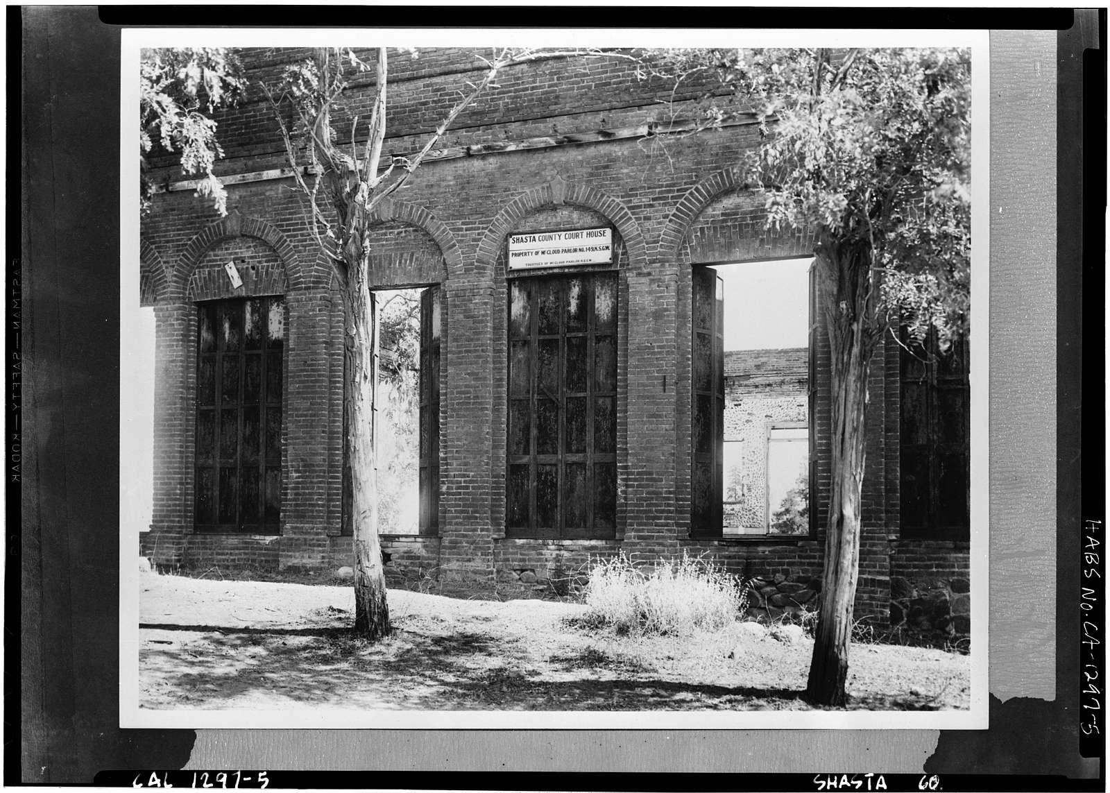 Shasta County Courthouse (Ruins), Shasta, Shasta County, CA