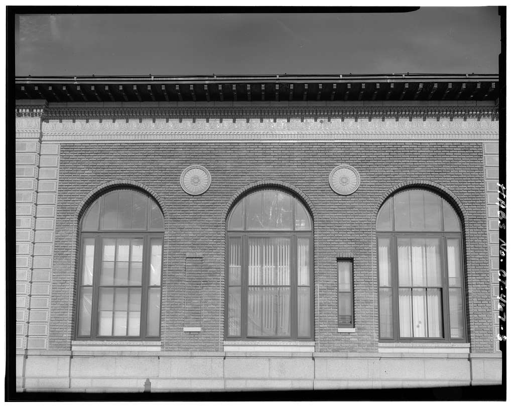 Stamford Post Office, 421 Atlantic Street, Stamford, Fairfield County, CT