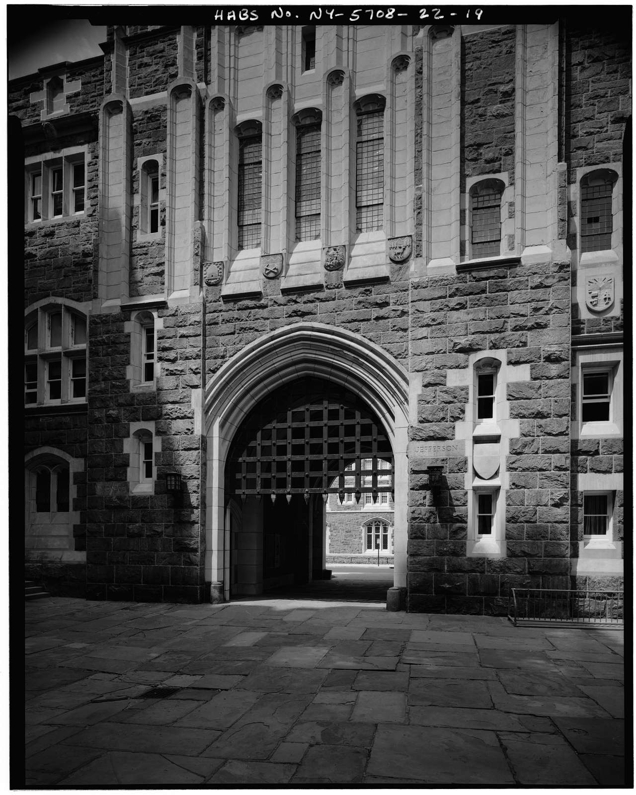 U. S. Military Academy, Administration Building, West Point, Orange County, NY