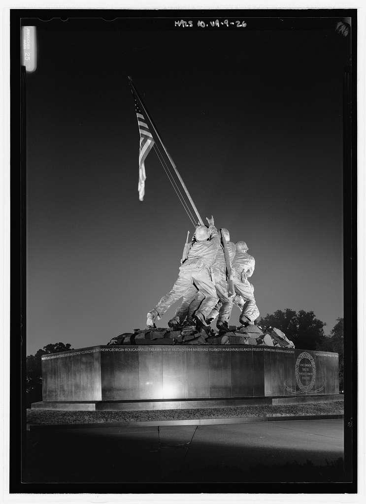 United States Marine Corps War Memorial, Marshall Drive, Arlington, Arlington County, VA