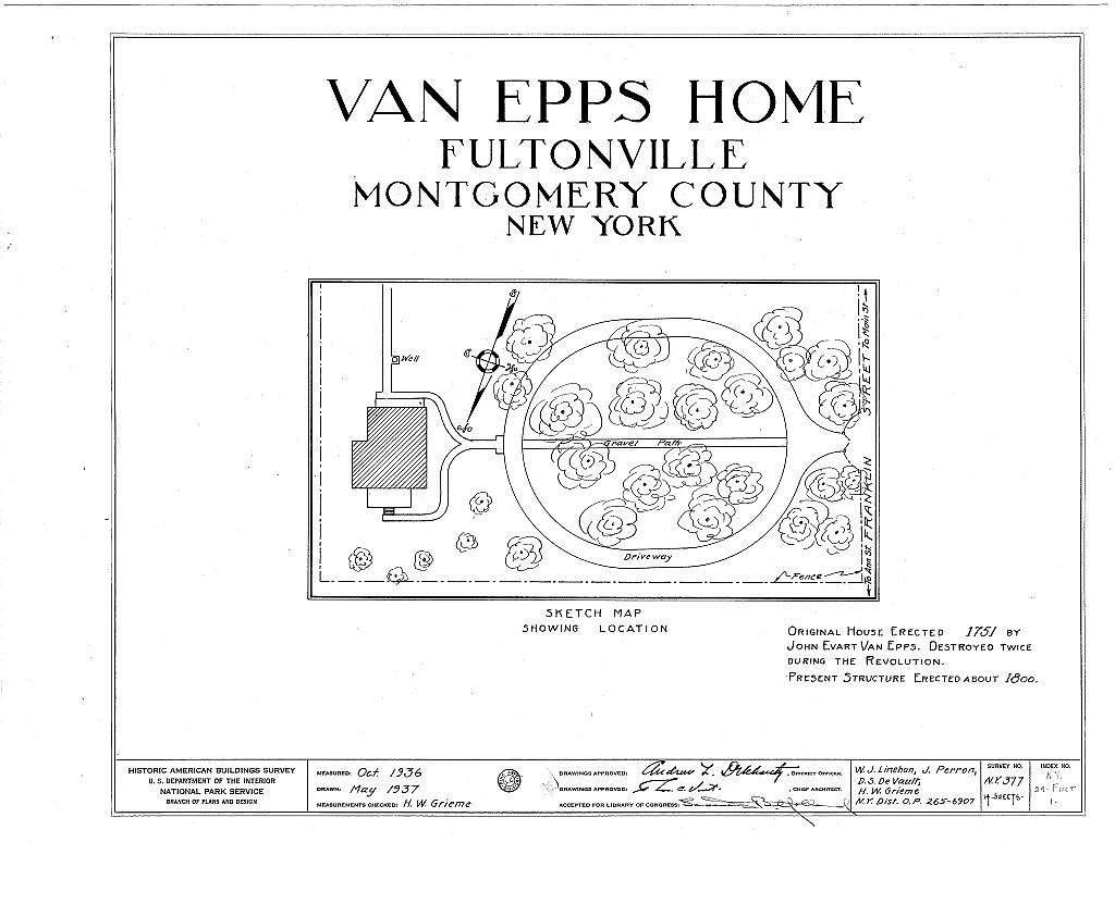 Van Epps House, Franklin Street, Fultonville, Montgomery County, NY