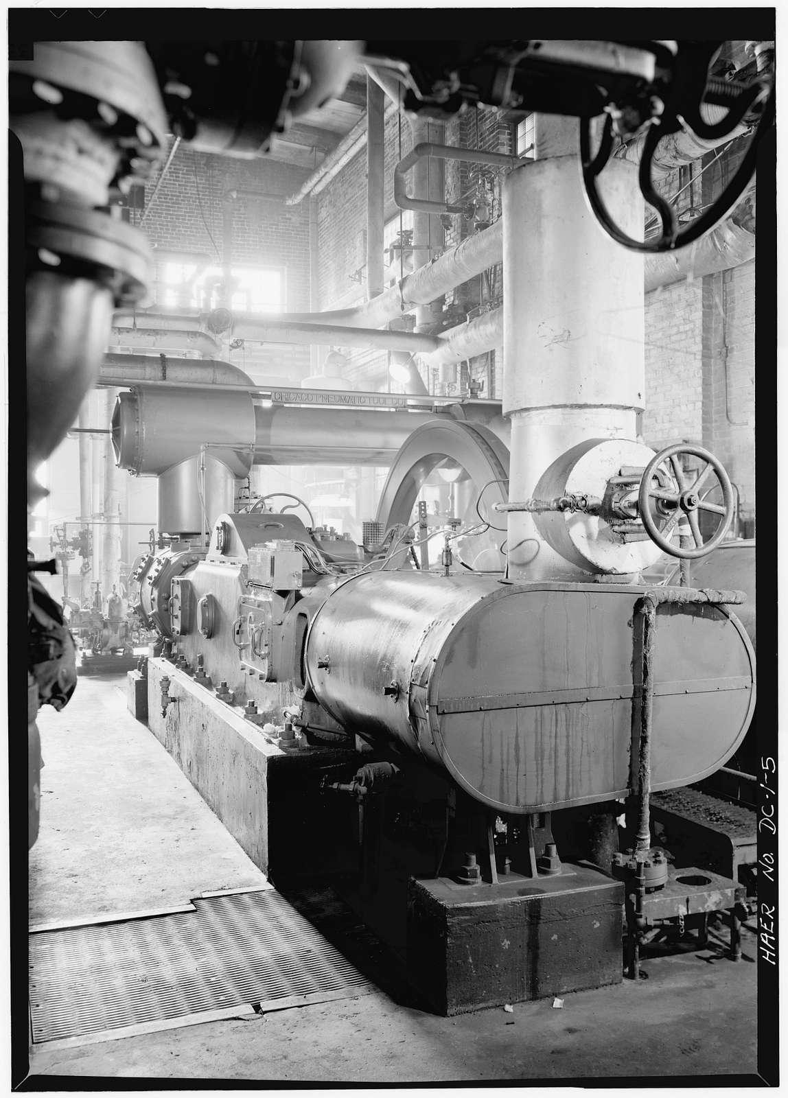 Washington Terminal Company Power Plant, First Avenue Northeast, Washington, District of Columbia, DC