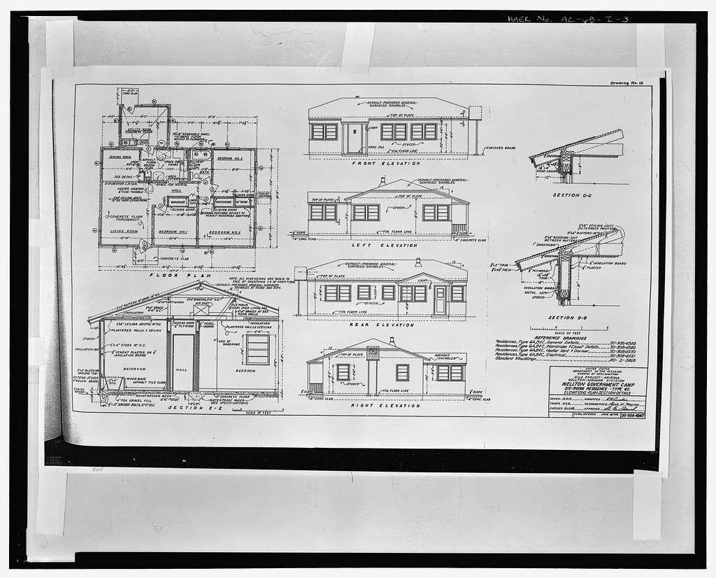 Wellton-Mohawk Irrigation System, Building No. 3 (House), 30621 Wellton-Mohawk Drive, Wellton, Yuma County, AZ