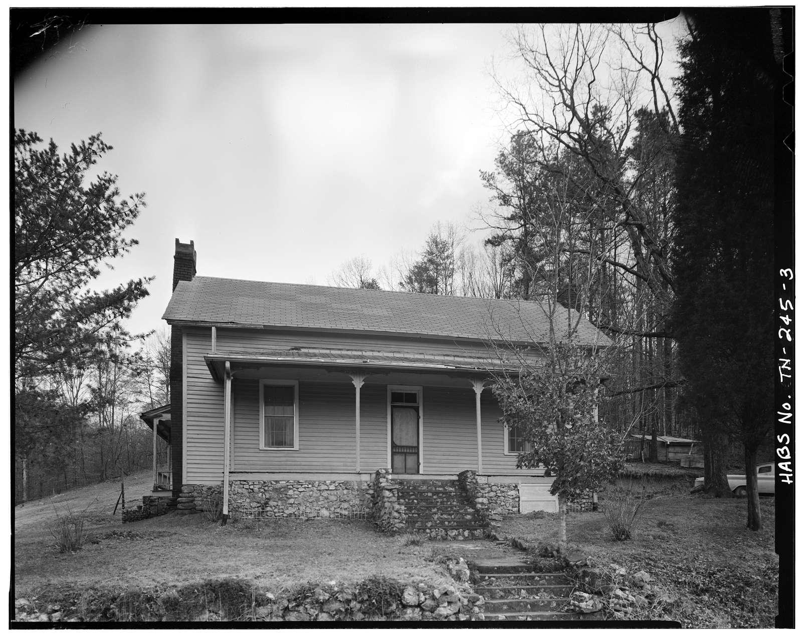 William Hixon House, Burnt Mill Road, Route 8, Chattanooga, Hamilton County, TN