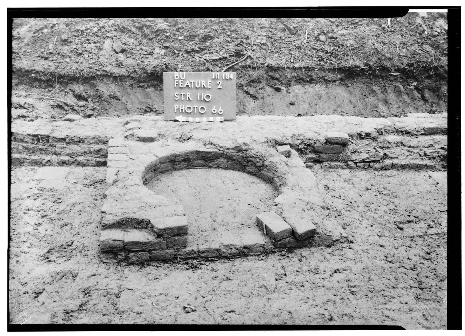 Architectural Remains, Unit B, Structure 110, Jamestown, James City County, VA