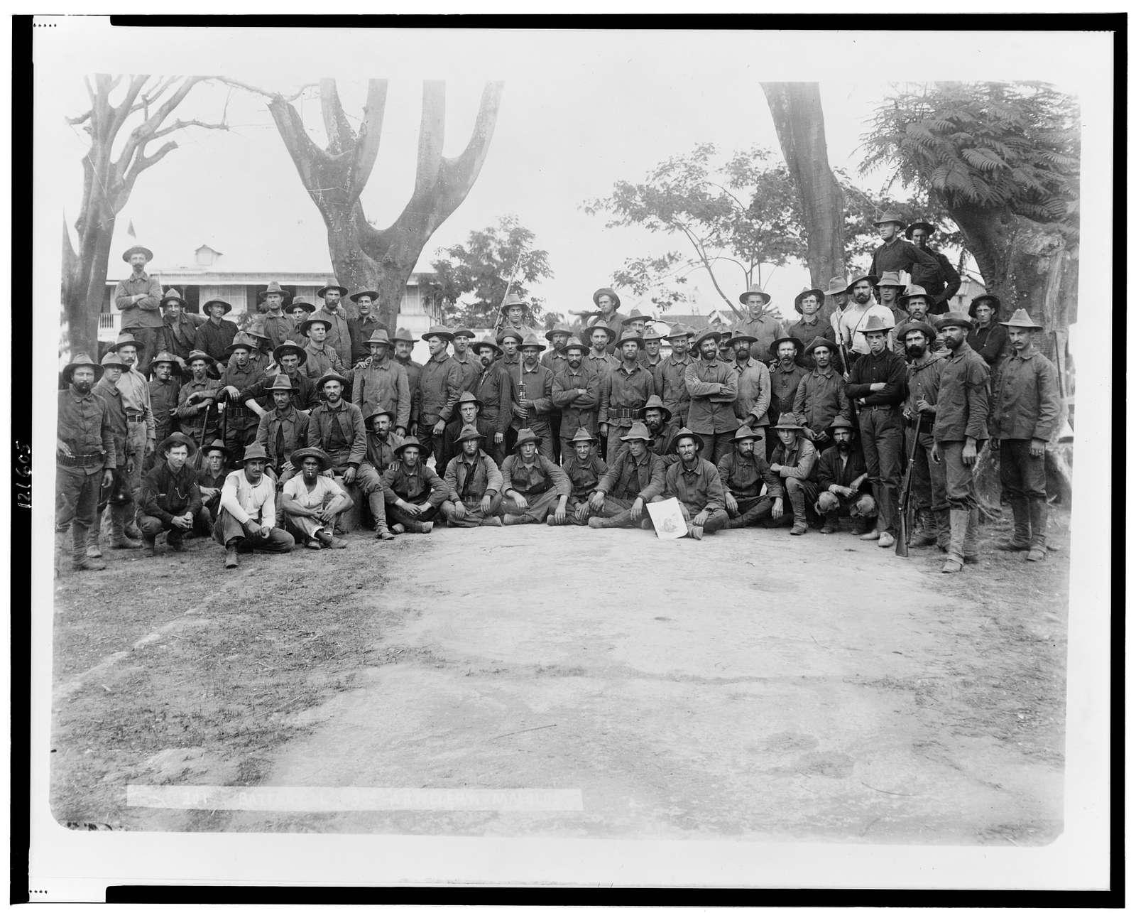 Battery L. 3rd - Artillery, Malolos