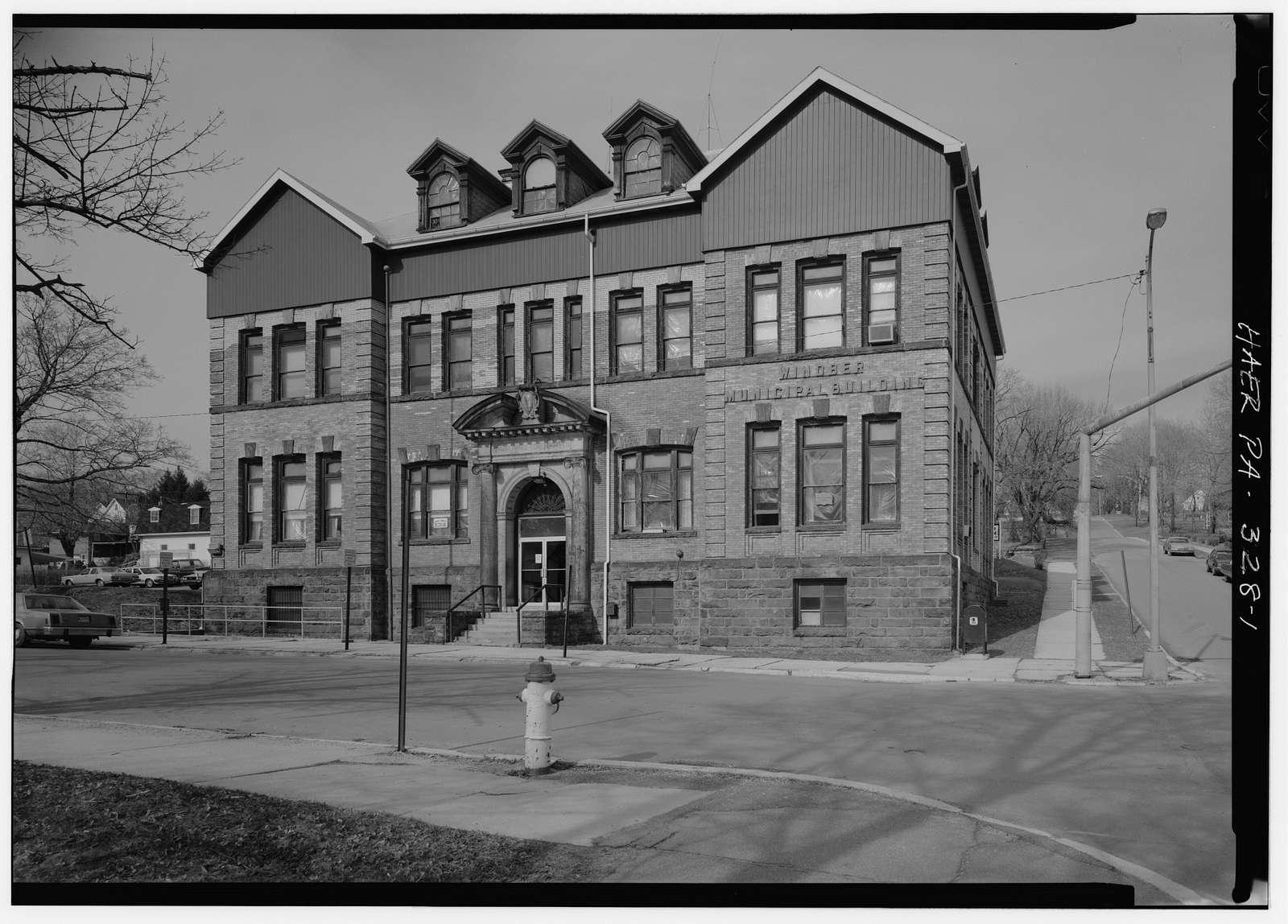 Berwind-White Coal Mining Company, Main Office, Fifteenth Street & Somerset Avenue, Windber, Somerset County, PA