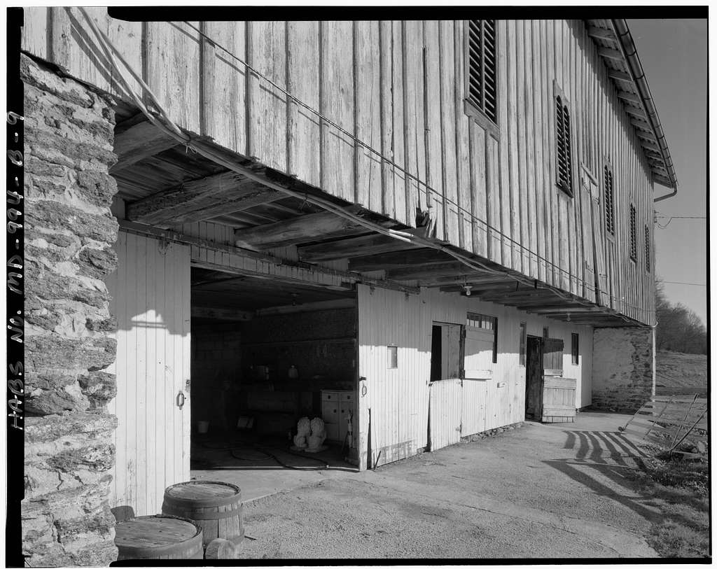 Blendon Estate, Barn, 11747 Park Heights Avenue, Owings Mills, Baltimore County, MD