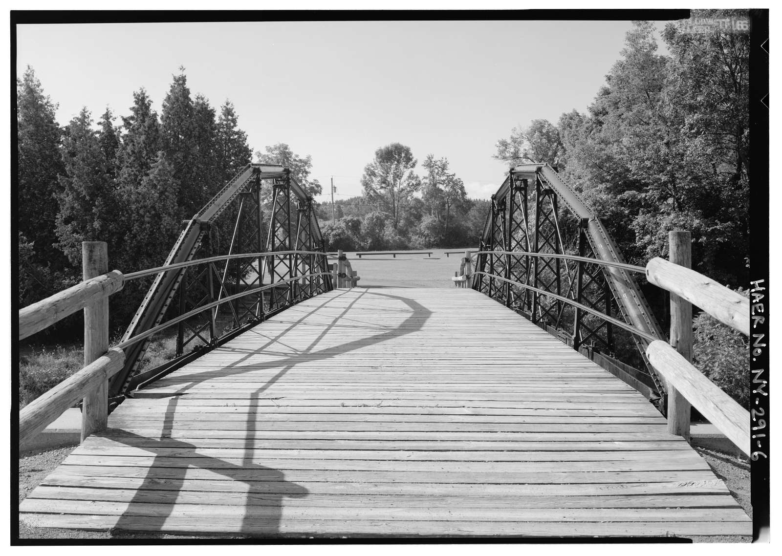 Cooper's Tubular Arch Bridge, Spanning Old Erie Canal north of Linden Street, Fayetteville, Onondaga County, NY