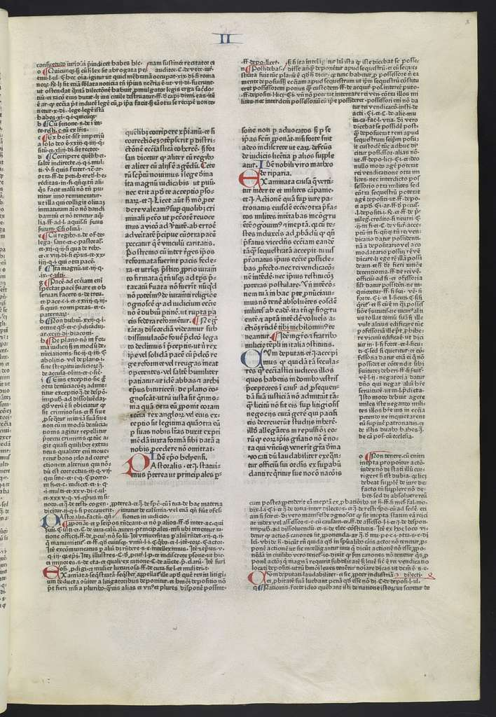 Decretales Gregorii IX.  Vol. 3.