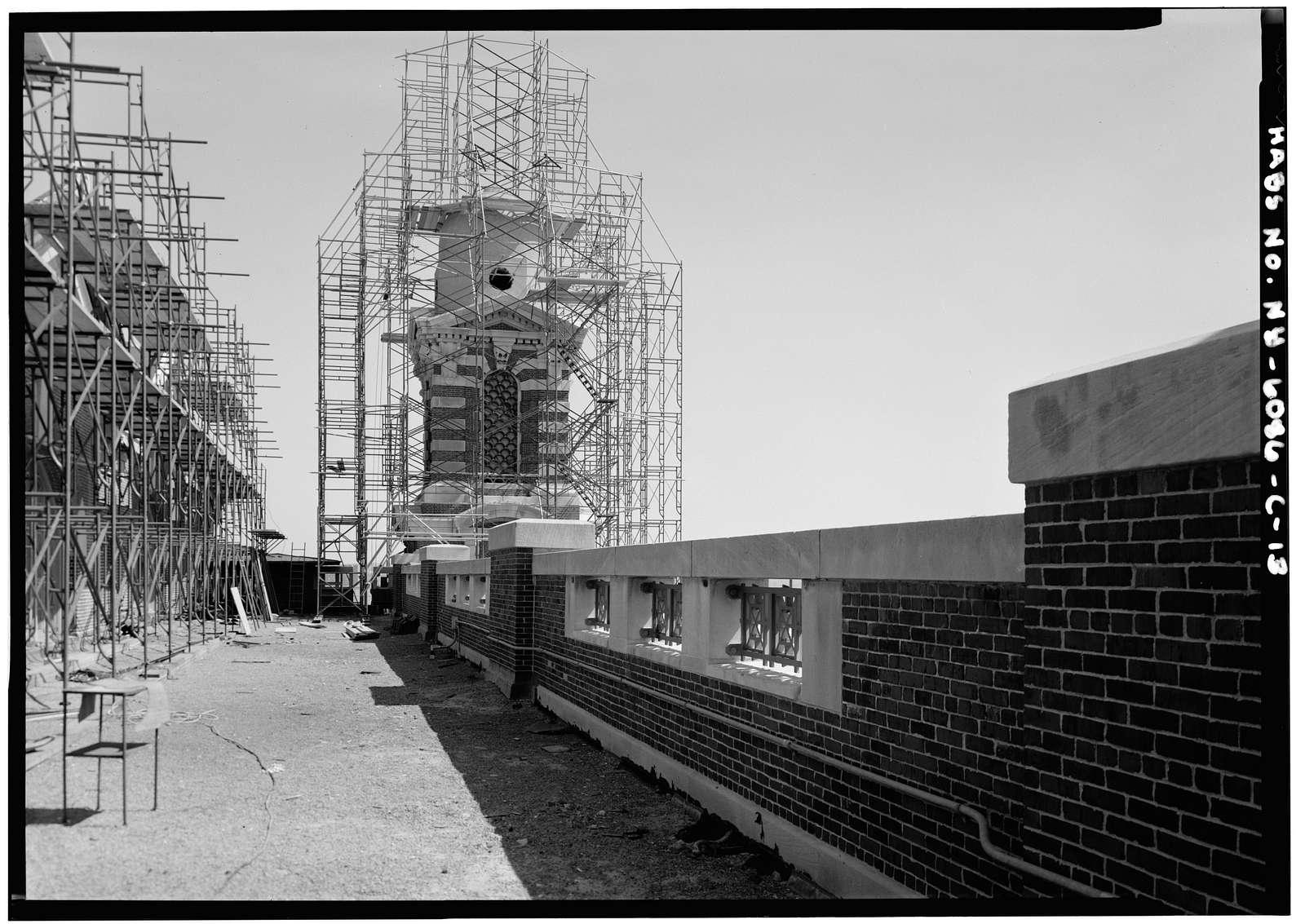 Ellis Island, Main Building, New York Harbor, New York, New York County, NY