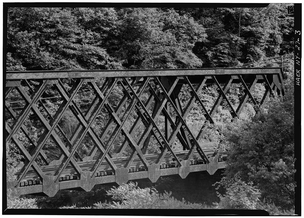 Erie Railway, Oquaga Creek Bridge, Spanning Oquaga Creek at State Route 17, Deposit, Broome County, NY