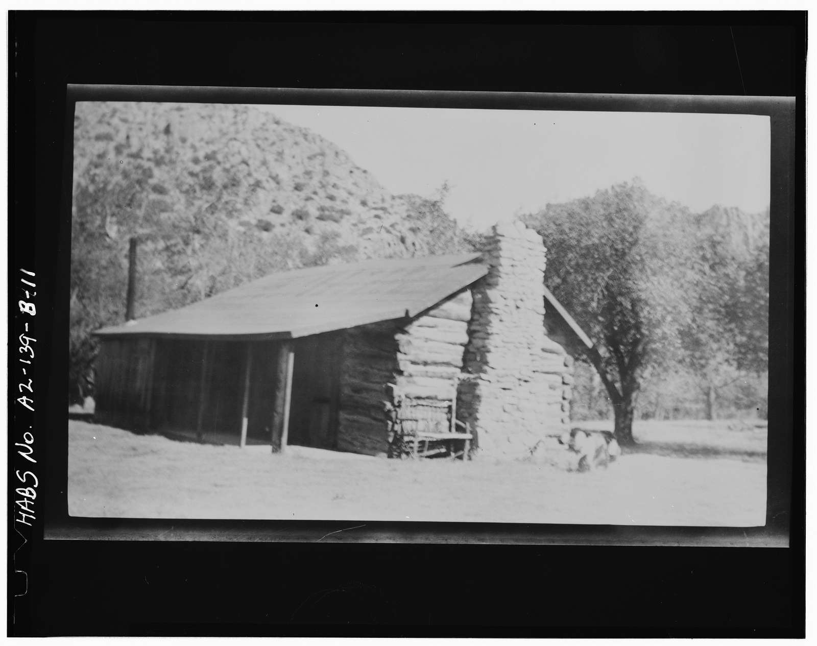 Faraway Ranch, Stafford-Riggs Cabin, Willcox, Cochise County, AZ